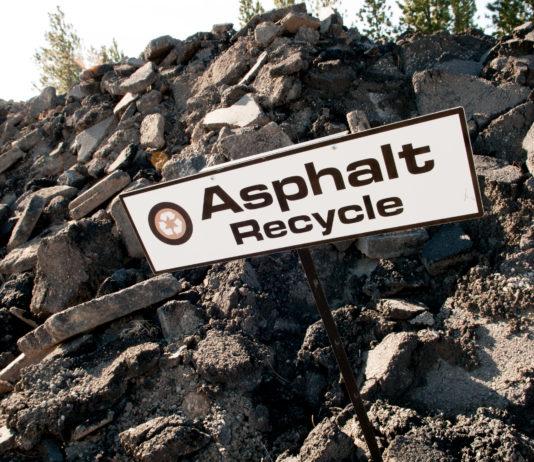 Asphalt Road Pavement Construction