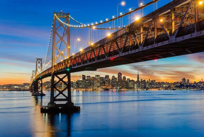 Oakland Bay Bridge in California