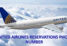 United Airlines reservations