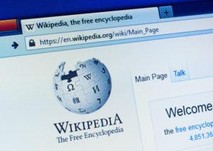 wikipedia editing