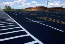 parking lots paving