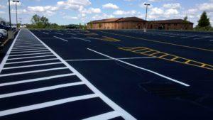 parking lots paving
