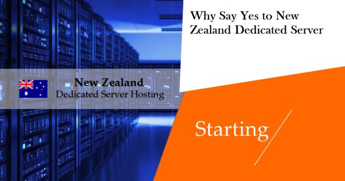 Why Say Yes to New Zealand Dedicated Server