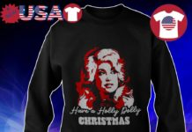Holly Dolly Christmas Shirt