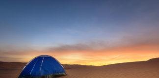 desert camping in Dubai