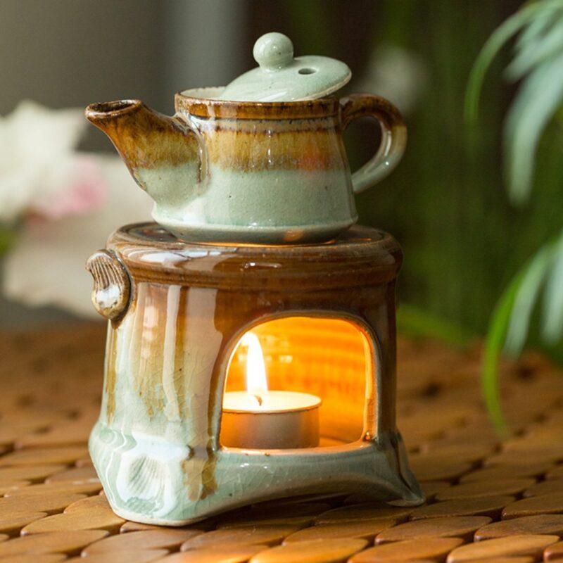Ceramic Gas Stove Brewing Aroma Diffuser (Studio Pottery)