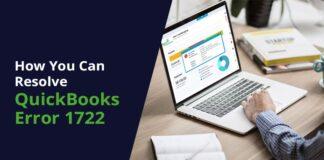 QuickBooks Error 1722