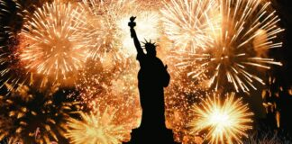 New Year celebration in New York