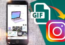 Upload a GIF to Instagram