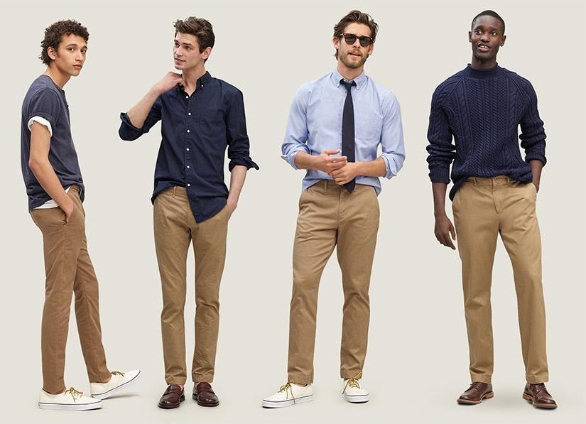 men clothes shopping