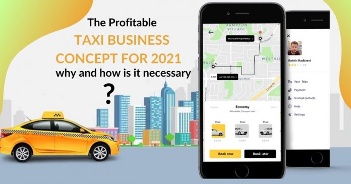 Taxi Business Concept