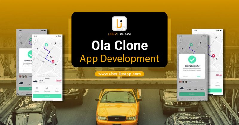 Ola clone application
