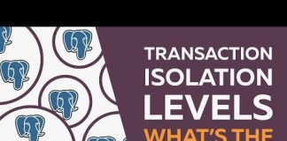 Transaction Isolation in PostgreSQL Database Management System