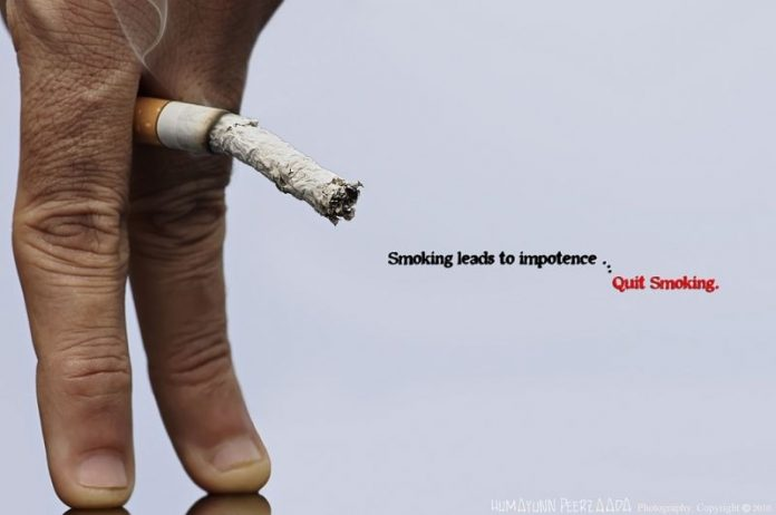 Erectile Dysfunction Caused by Smoking