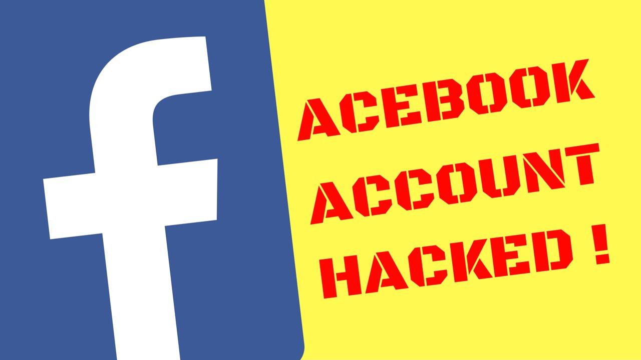 Facebook account hacked