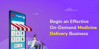 On demand medicine delivery script
