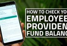 Provident Fund Balance Instantly