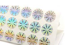 Custom Printed Wholesale Hologram Stickers