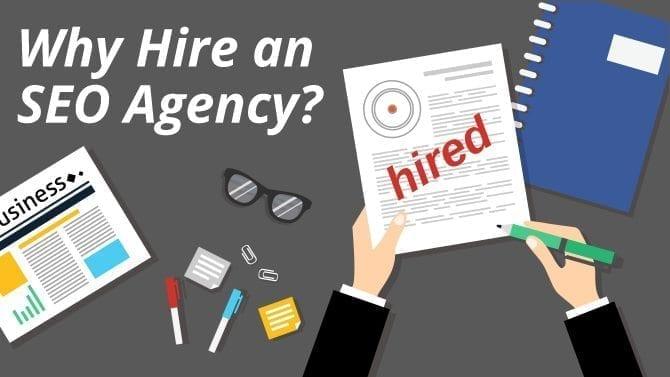 Hire an SEO Agency