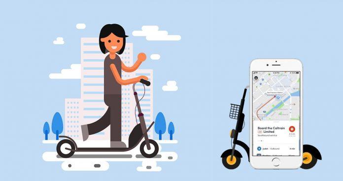 E-Scooter App Development